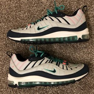Nike Air Max 98 South Beach Tidal Wave Size 10